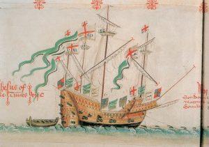 El Jesus of Lübeck, uno de los detonantes de La Armada Invencible