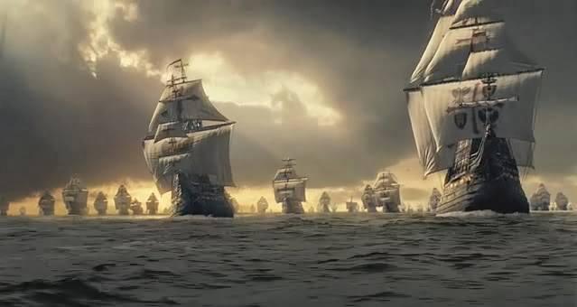 La Armada Invencible parte de Lisboa