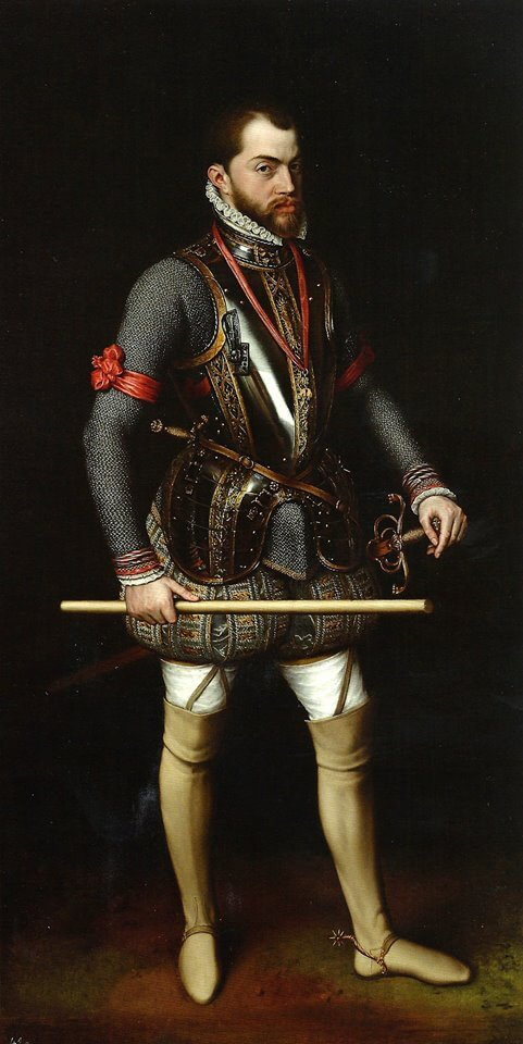 Felipe II por Claudio Coello