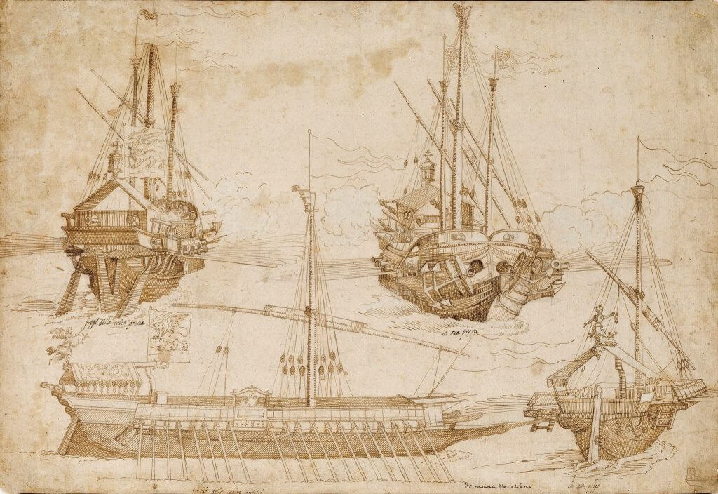 Escuadra de galeras de la Armada Invencible